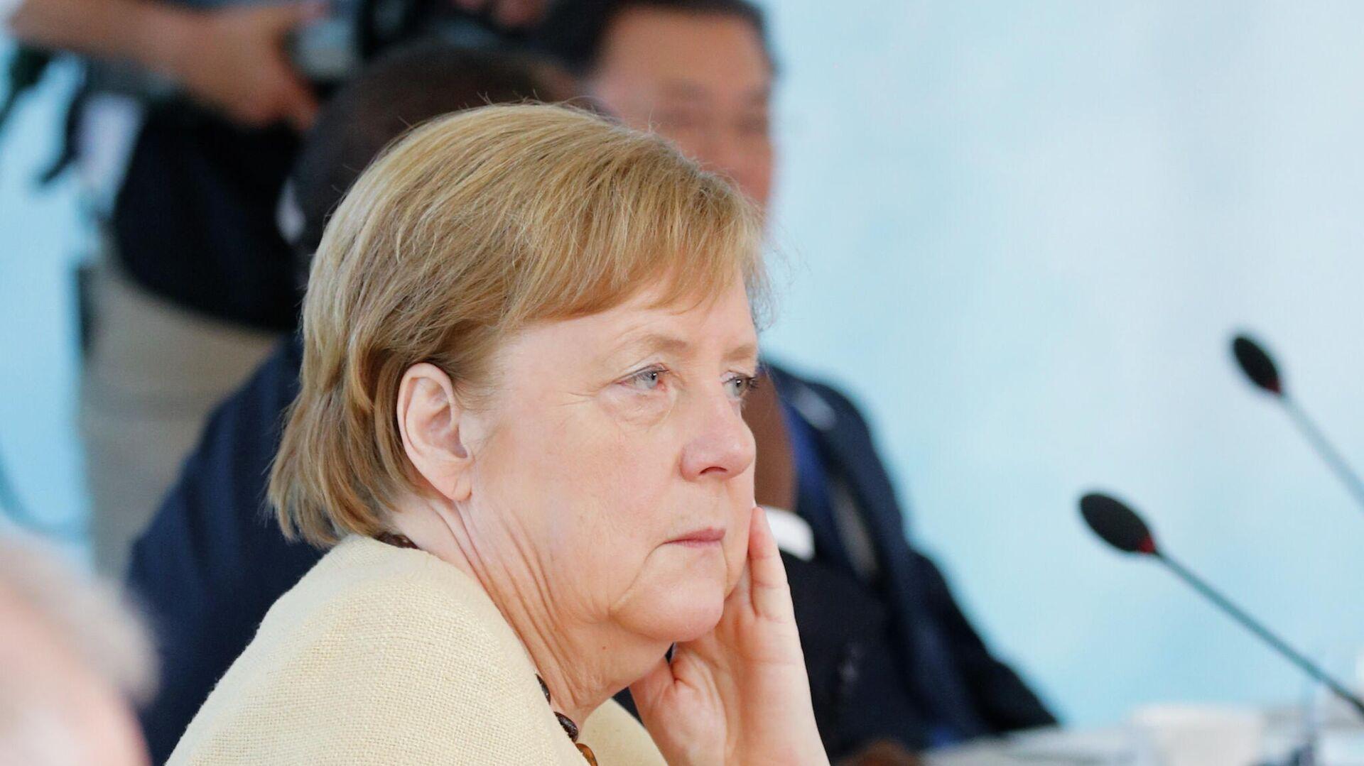 Меркель раскритиковала РФ  вречи онападении Германии наСССР