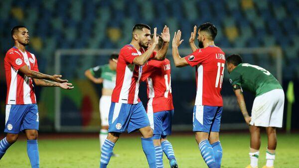 Игроки сборной Парагвая по футболу
