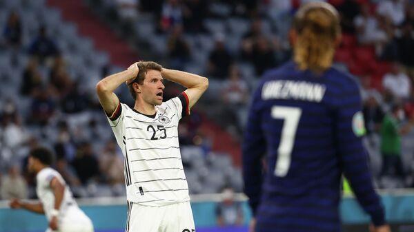 Нападающий сборной Германии Томас Мюллер