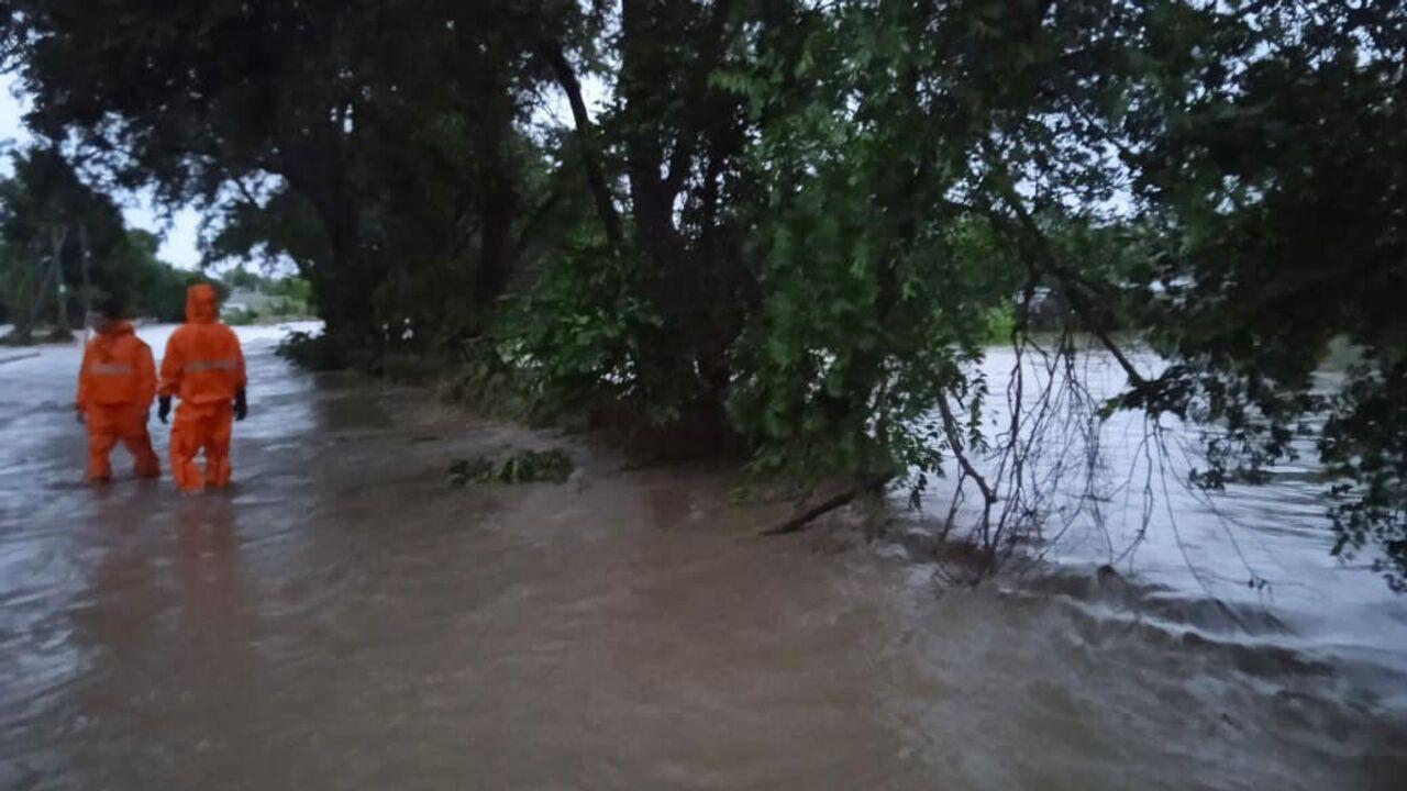 Часть Керчи осталась без воды и света из-за подтопления
