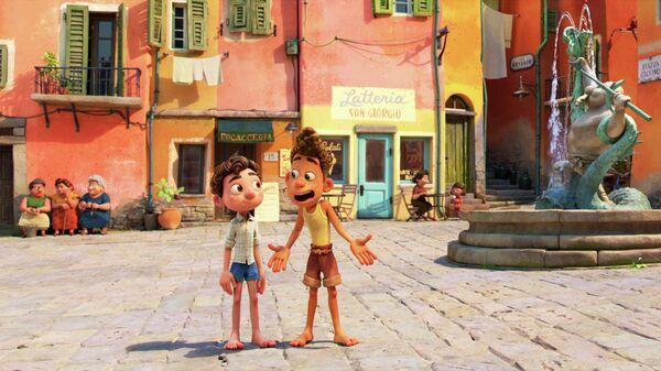 Кадр из мультфильма Лука