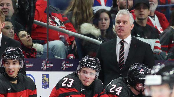 Главный тренер сборной Канады по хоккею Доминик Дюшарм