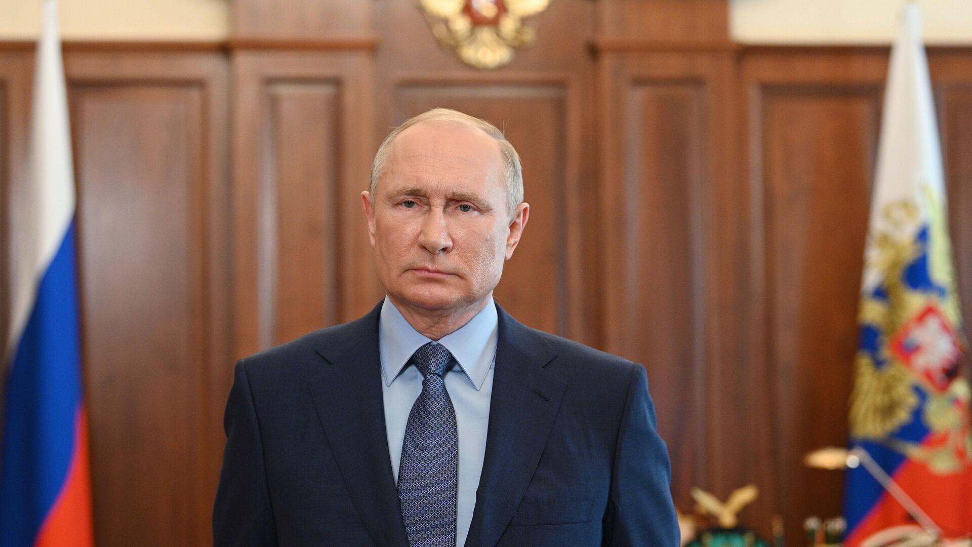 Президент России Владимир Путин - РИА Новости, 1920, 09.09.2021