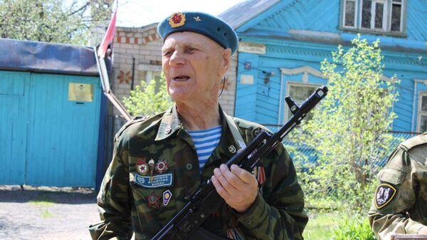 Ветеран Великой Отечественной войны, десантник Павел Плетнев