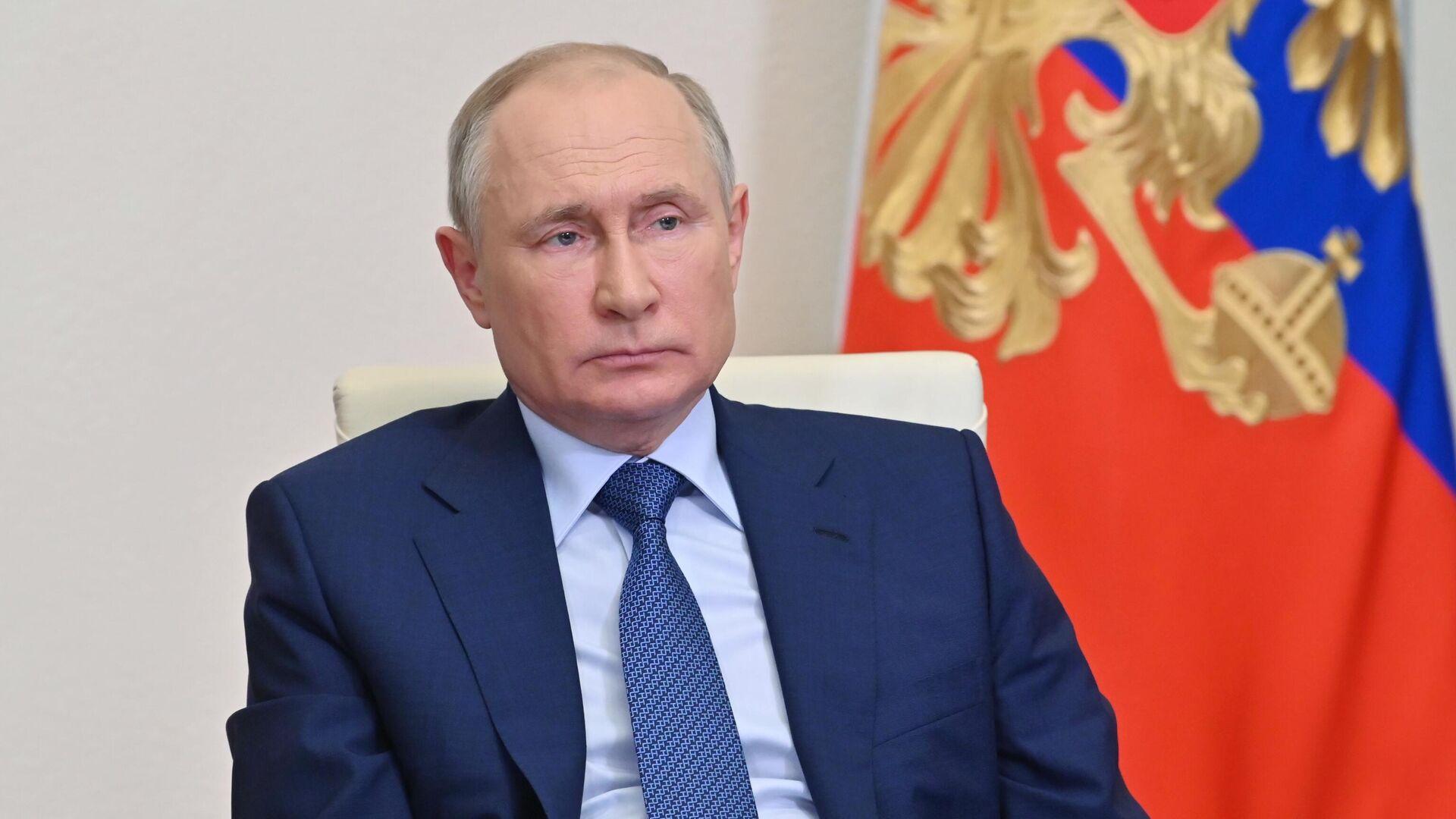 Президент РФ Владимир Путин - РИА Новости, 1920, 25.06.2021