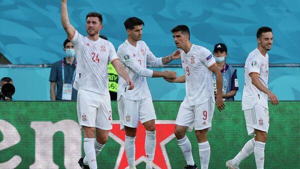 Футболисты сборной Испании