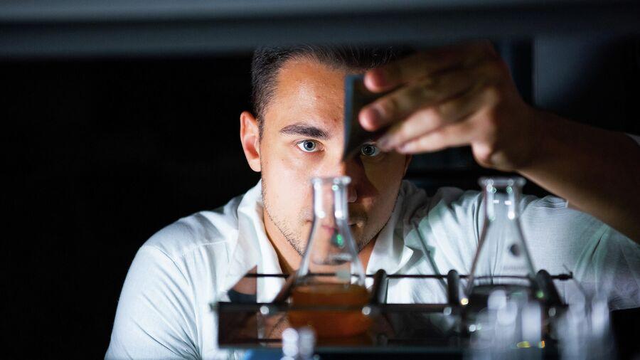 Лабораторные опыты в рамках научно-практического исследования выпускника