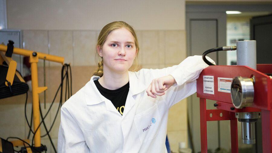 Инна Булыгина, разработчик биоимплантатов, выпускница программы Биоматериаловедение НИТУ МИСиС