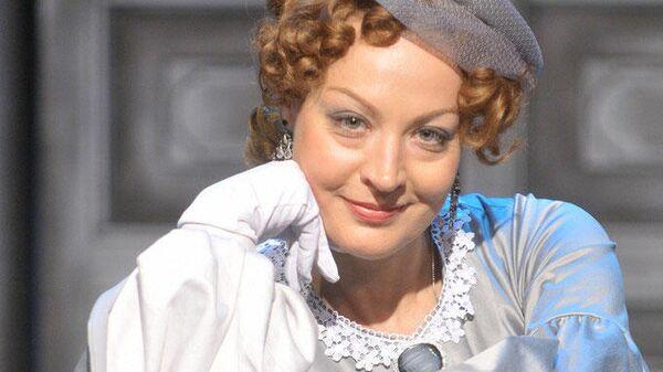 Российская актриса Инна Волгина