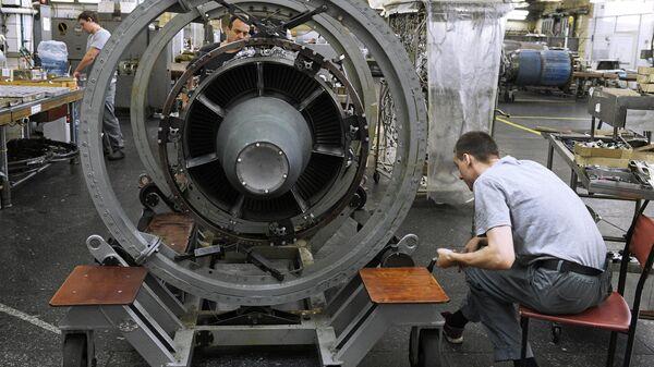 Производство авиадвигателей на ММП имени В. В. Чернышёва