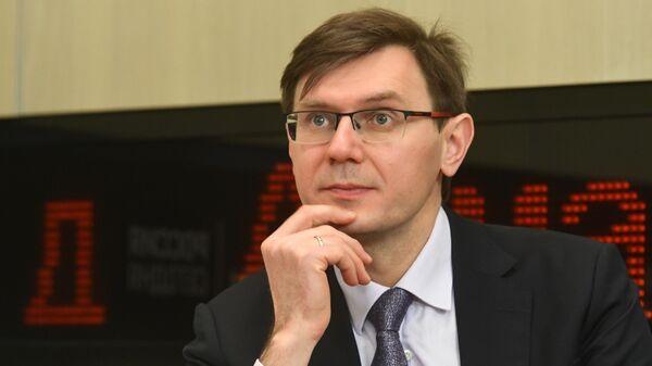 Заместитель директора Российского экологического оператора (РЭО) Алексей Макрушин
