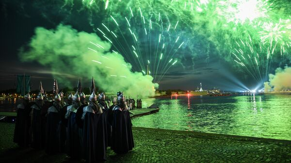 Праздник выпускников Алые паруса в Санкт-Петербурге