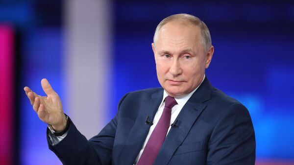 Снизить инфляцию до таргета в этом году вряд ли удастся, заявил Путин