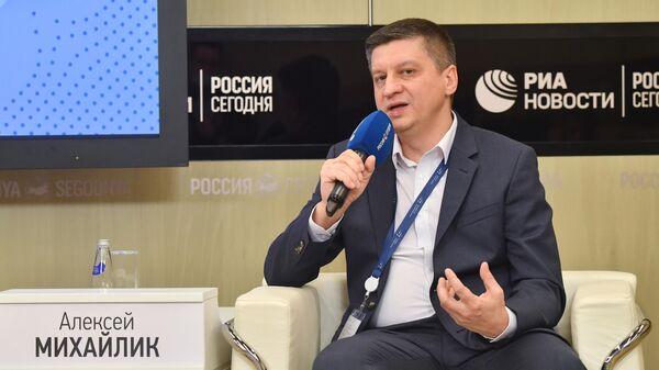 Вице-президент АО Российский экспортный центр Алексей Михайлик