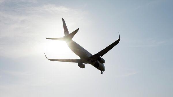 Самолет Boeing 737 авиакомпании Malaysia Airlines