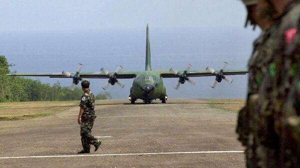 Самолет C-130 ВВС Филиппин