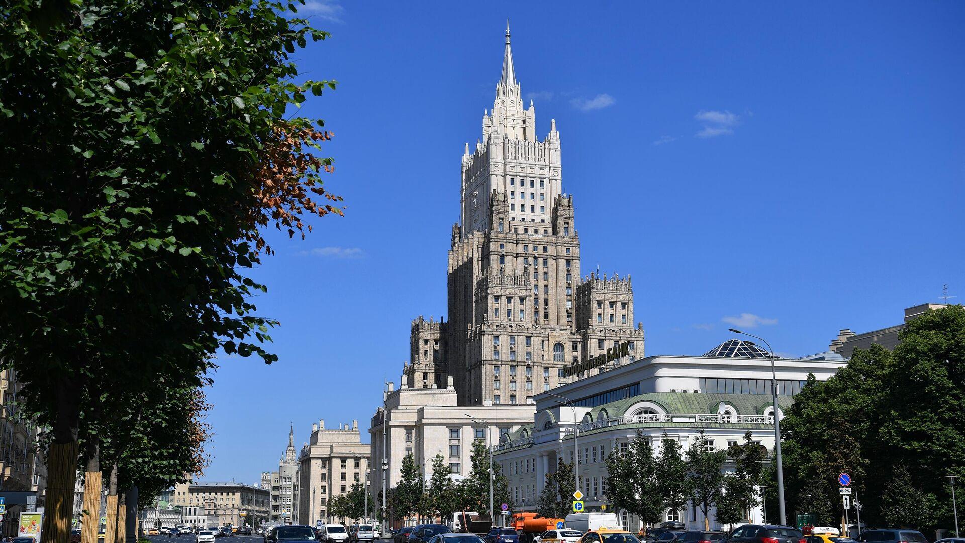 Здание Министерства иностранных дел РФ в Москве - РИА Новости, 1920, 02.08.2021