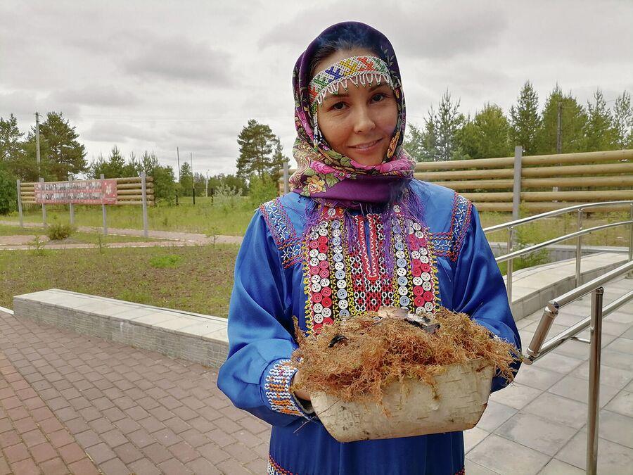 Обряд добрых пожеланий в Русскинском мезее природы и человека им. А.П. Ядрошникова