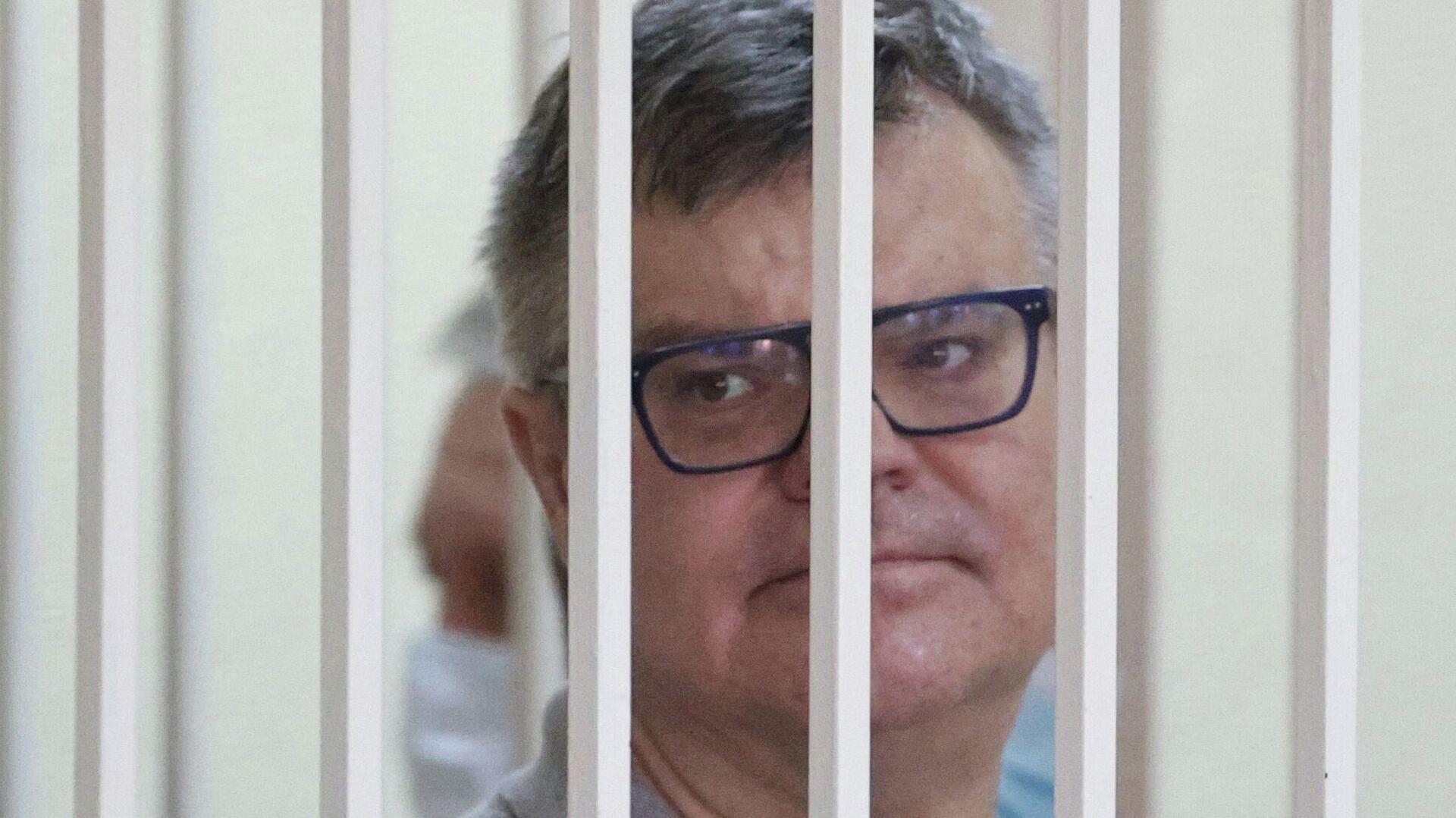 Виктор Бабарико в суде во время оглашения приговора - РИА Новости, 1920, 03.08.2021