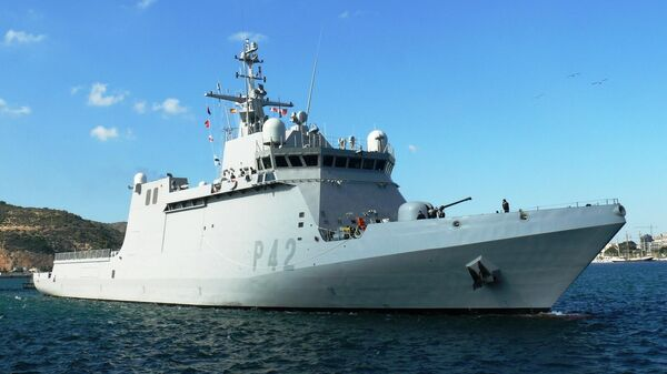 Патрульный корабль ВМС Испании