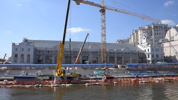 Реконструкция многофункционального комплекса ГЭС-2 на Болотной набережной в Москве