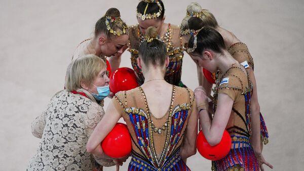 Художественная гимнастика. Этап Кубка мирового вызова. Первый день