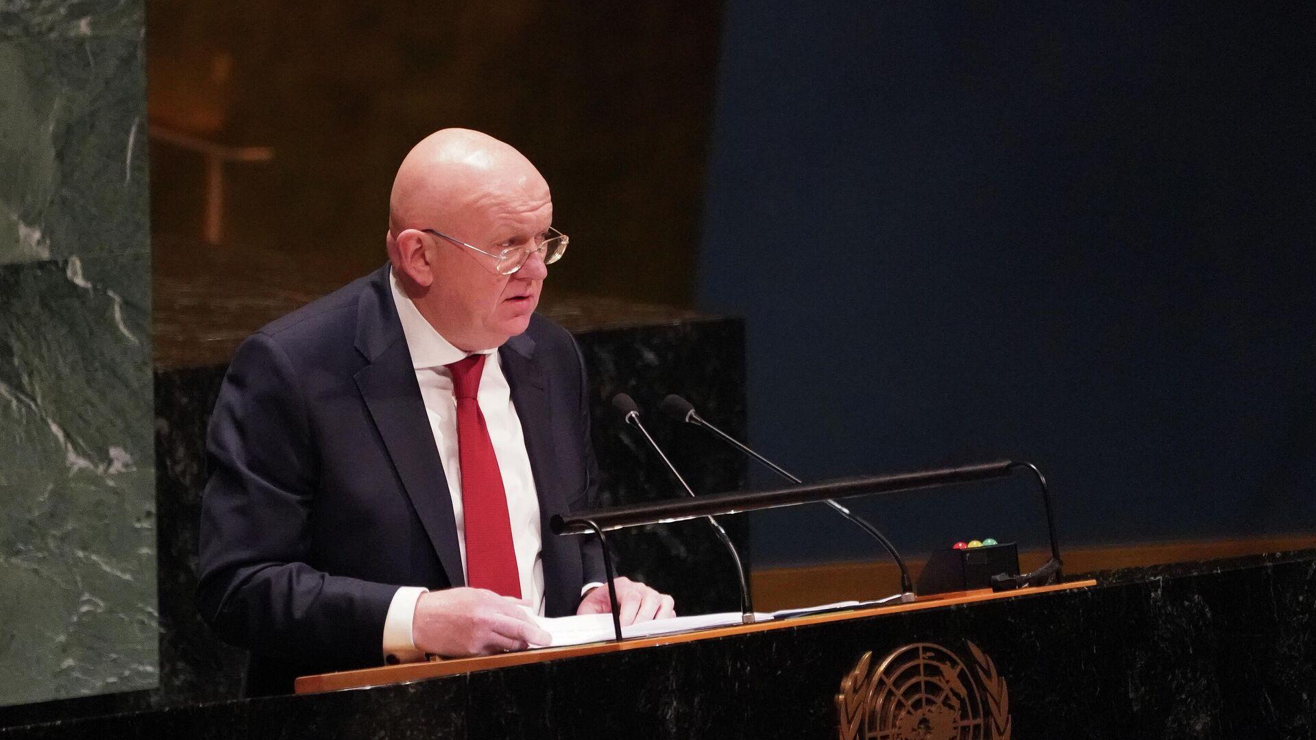 Небензя объяснил, почему Россия воздержалась при голосовании по Афганистану