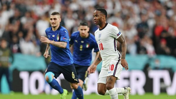 Эпизод матча Италия - Англия