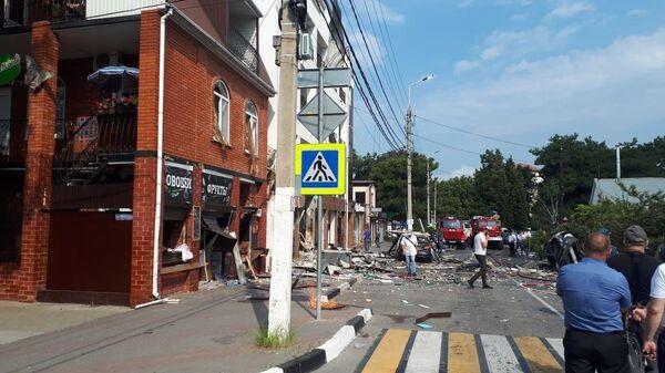 Взрыв в гостинице в городе Геленджик на улице Советская