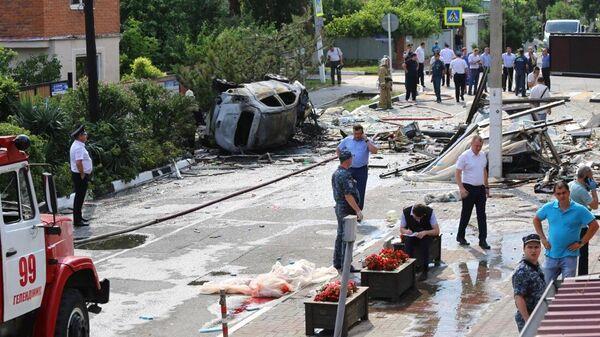 Взрыв газа в гостинице в Геленджике