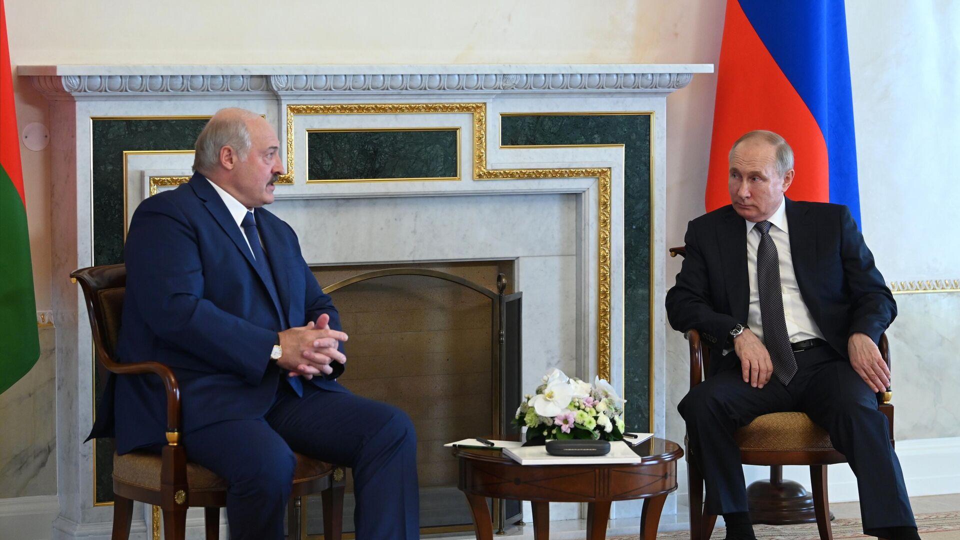 В Кремле проходят переговоры Путина и Лукашенко - РИА Новости, 09.09.2021