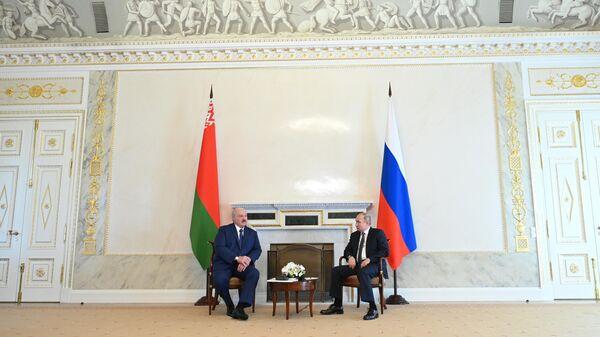 Переговоры Путина и Лукашенко пройдут 9 сентября