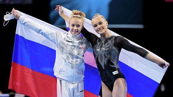 Спортивная гимнастика. Чемпионат Европы. Женщины. Многоборье
