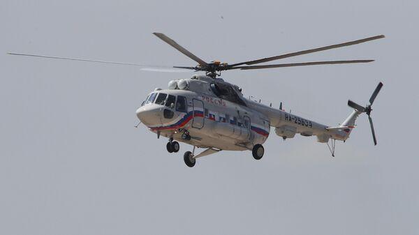 Вертолет Ми-8МТВ-1С специального летного отряда Россия