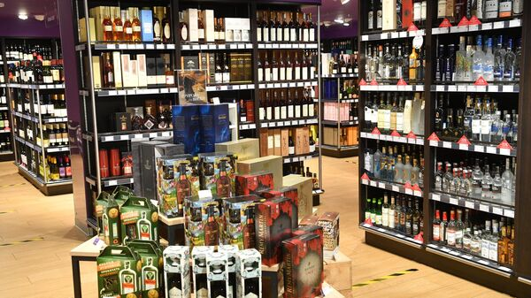 Продажа алкогольной продукции в магазине Азбука Вкуса в Москве