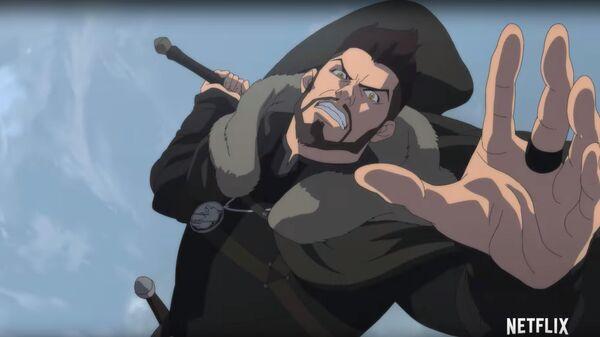 Кадр из мультфильма Ведьмак: Кошмар волка