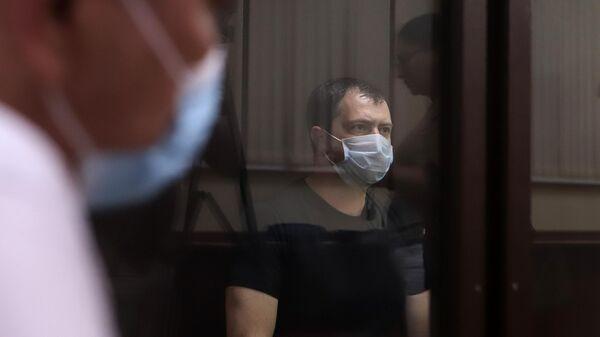 Начальник ставропольского ГИБДД полковник Алексей Сафонов в зале суда