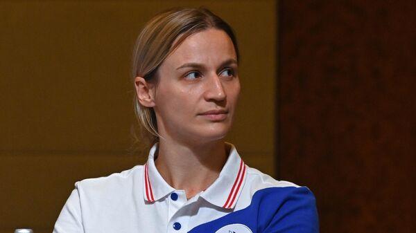 Игрок женской сборной России по гандболу Ольга Фомина
