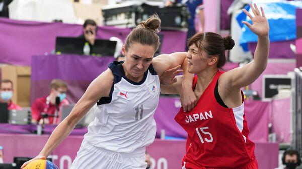 Олимпиада-2020. Баскетбол 3х3. Женщины. Матч Россия - Япония