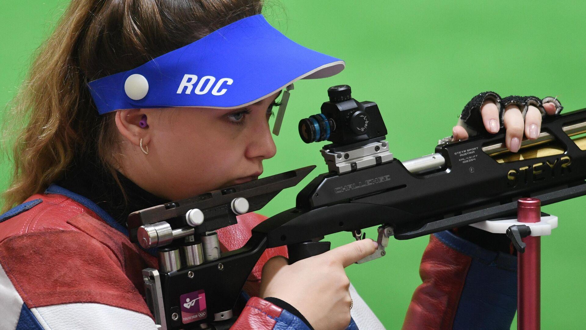 Олимпиада-2020. Стрельба. Женщины. Пневматическая винтовка. 10 м - РИА Новости, 1920, 24.07.2021