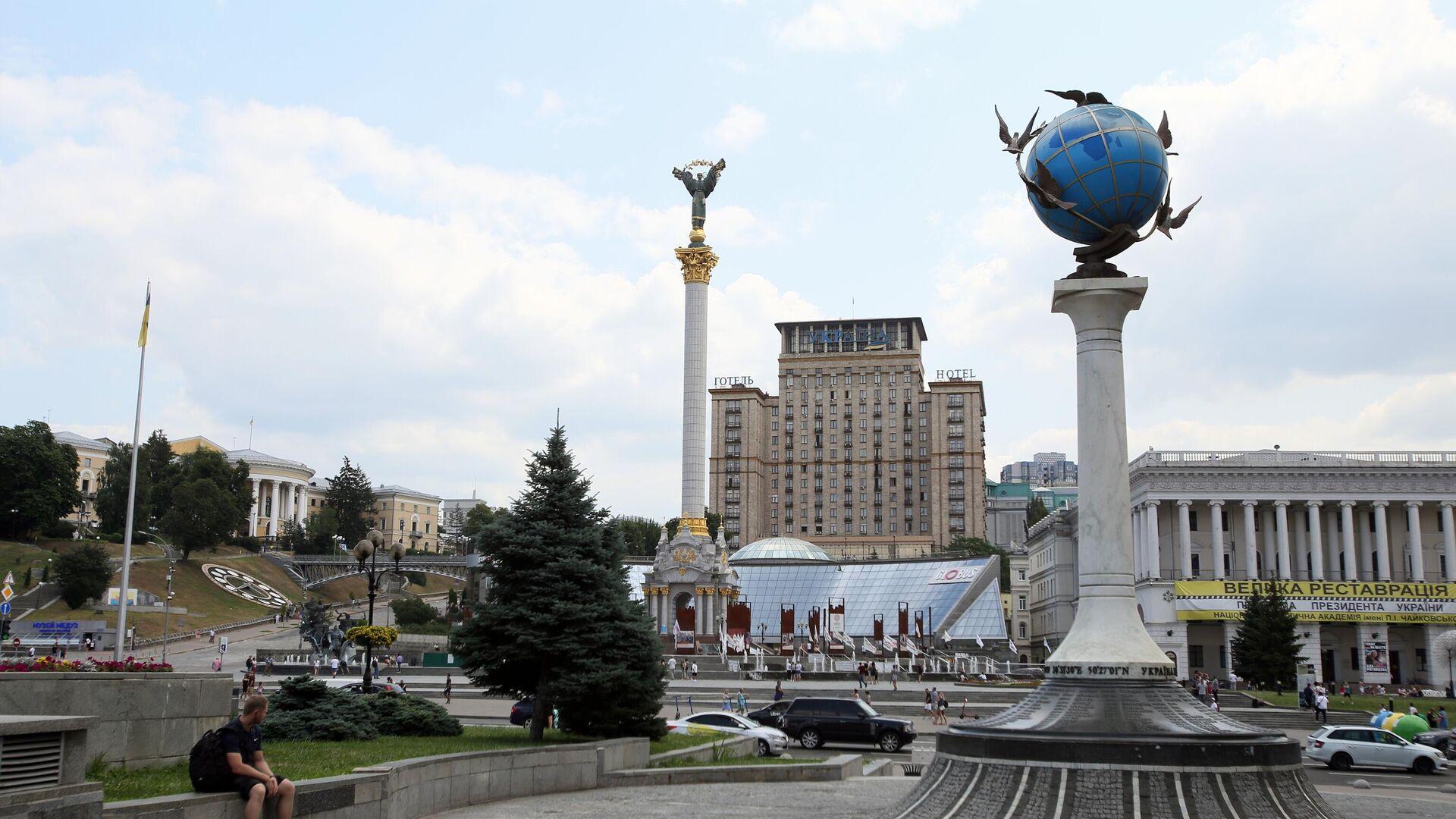 Площадь Независимости в Киеве - РИА Новости, 1920, 04.08.2021