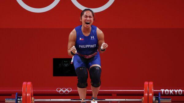 Филиппинская тяжелоатлетка Хидилин Диас