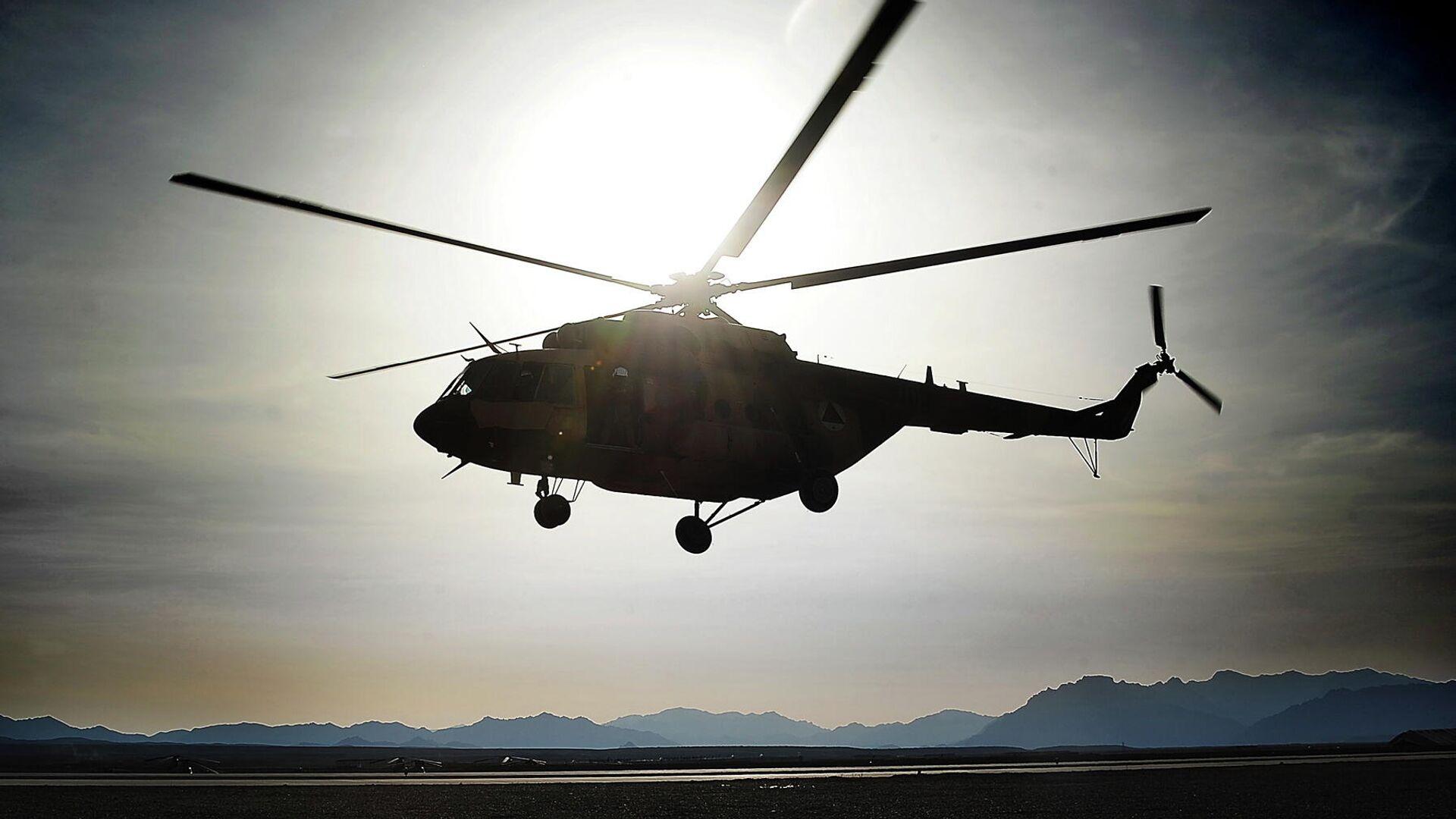 Вертолет ВВС Афганистана - РИА Новости, 1920, 27.07.2021