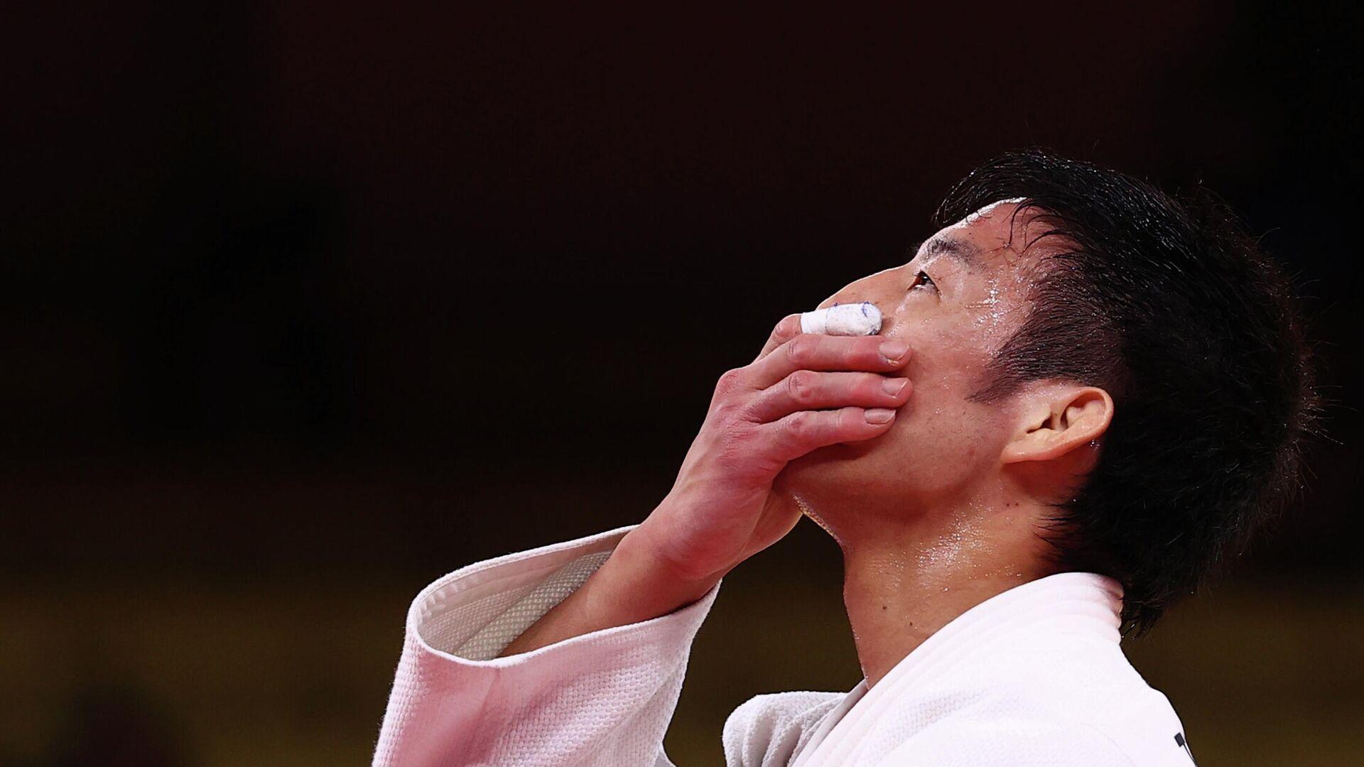Японский дзюдоист Таканори Нагасэ - РИА Новости, 1920, 27.07.2021
