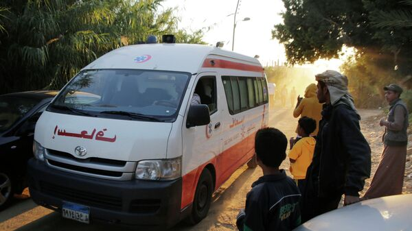 Автомобиль скорой помощи в Египте