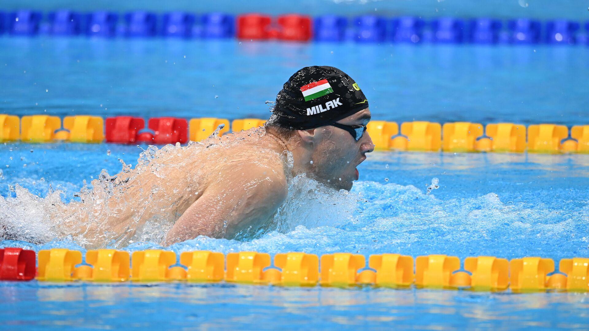 Олимпиада-2020. Плавание. Третий день - РИА Новости, 1920, 28.07.2021