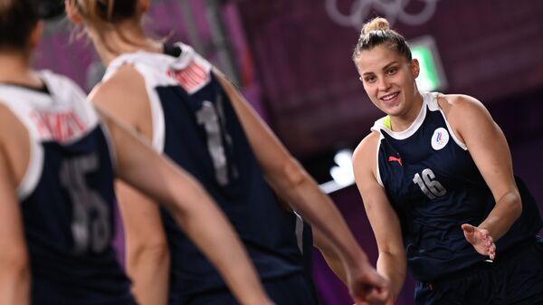 Баскетболистка Евгения Фролкина