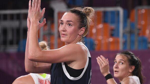 Российская баскетболистка Анастасия Логунова