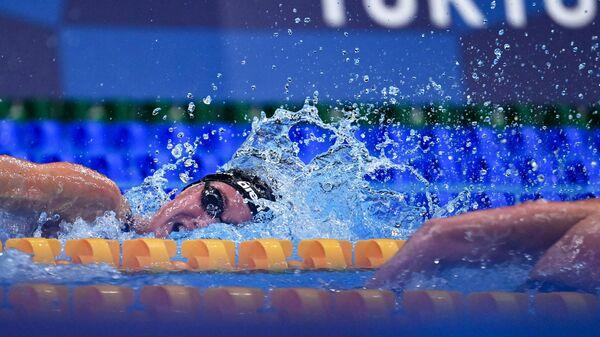 Российская пловчиха Анастасия Кирпичникова