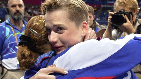 Российская гимнастка Светлана Хоркина на Олимпиаде-2000 в Сиднее